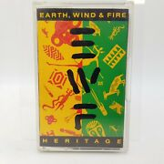 Vintage 1990 Earth Wind And Fire Heritage Music Cassette Tape