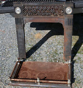 E.a. Jackson And Bro Cast Iron Heater Fireplace Cowling And Hearth Nyc Gar