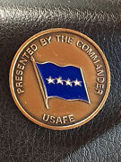 Authentic Usaf In Europe Command 4 Star General's Coin 221