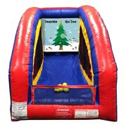 Ultralite Commercial Inflatable Game - Christmas Tree - Air Frame With Blower