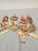 Vintage Victorian-themed Greeting Cards/hanging Ornaments 1970/80