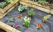 Garden Weed Control Fabric Membrane Ground Sheet Cover Decking Landscaping Paths