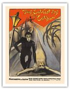 The Cabinet Of Dr. Caligari - 1920 Vintage Film Movie Poster Art Print