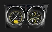 Auto Cross Yellow 1967-68 Camaro Package - Classic Instruments - Cam67axy