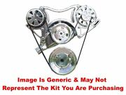 Vips - Turbo Trac Serpentine System - Bb Chevy Polished W/140a Alt- No Ps