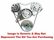 Vips - Turbo Trac Serpentine System - Bb Chevy Polished W/ac Line - No Ps