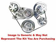 Vips - Turbo Trac Serpentine System - Ls - Polished W/o Power Steering