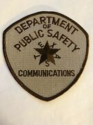 Texas Dept. Of Public Safety Highway Patrol Communications Patch