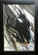 Alex Ross Rare Miracle On Crime Alley Batman Giclee Canvas Signed Coa Framed