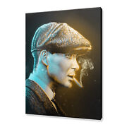 Thomas Shelby Peaky Blinders Canvas Print Picture Wall Art Free Fast Delivery