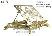 Big Size Bible Stand Book Reading Display Stand With Man-made Gem 28 Gem Sjj-2