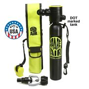 Spare Air Pkg-made In Usa W Dot-the Original Mini Scuba Tank For Divers And More
