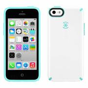 Lot Of 100 Speck Candyshell Case Iphone 5c White Mykonos Blue
