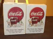 1993 Coca Cola Collectors Club Playing Cards Great Get Together Las Vegas Mib