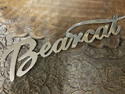 Bearcat Radiator Script Solid Brass Stutz Hot Rod Or Rat Rods Or Other Makes
