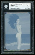 Danica Patrick 2008 Sports Illustrated Si Swimsuit D10 Printing Plate 1/1 Bgs 9