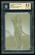 Danica Patrick 2009 Sports Illustrated Si Swimsuit D3 Printing Plate 1/1 Bgs 9.5