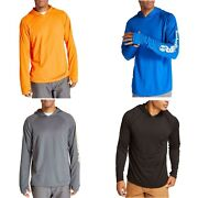New Pro Mens Wicking Good Long Sleeve Tagless Fast-drying Hoodie