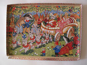 Vintage Penelope Wooden Jigsaw Puzzle, Princess In Chariot With Animals, 108 Pcs