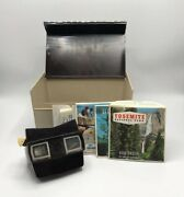 Vintage Sawyer's View-master And 15 Included Reels With Original Hard Box