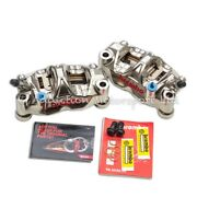 Brembo Gp4 Rx Cnc P4 32/32 130mm Billet Radial Calipers For Yamaha 07-14 Yzf-r1