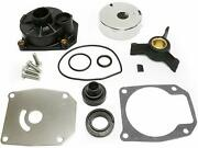 For Sierra 18-3454 Johnson Evinrude Water Pump Kit With Housing 438592 433548