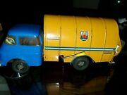 Very Rare German Friction Toy Tin Truck From The 60s