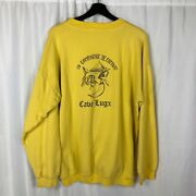 Vintage 1970s French 92nd Regiment Infantry 3rd Combat Company Sweatshirt
