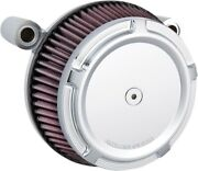 Arlen Ness Big Sucker Stage 1 Air Filter Kit With Beveled Cover Chrome 50-849