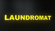 10pc Laundromat Led Black Side Panels Storefront Sign Ready To Install