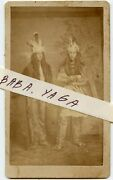 Native American Indian Men Cdv Photo By Russell And Beeles Blossburg And Troy Pa