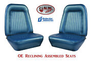 Fully Assembled Seats 1967 - 1968 Camaro Standard Oe Reclining - Any Color