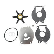 Outboard Water Pump Impeller Kit For Mercury Mariner 15-25hp 2-cycle 47-85089q4