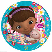 Pack Of 40 Doc Mcstuffins 23cm Paper Plates Birthday Party Supplies Tableware 9