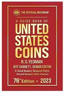 New 2022 Official Red Book Guide For Us Coins Price List Hardcover Catalog 75th