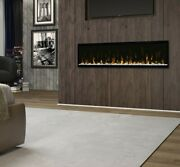 Dimplex Xlf 60 Linear Electric Fireplace Multi Color Led Lighting Modern Style