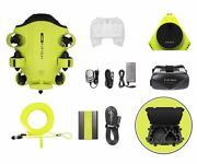 Qysea Fifish V6 Underwater Drone + Vr Box + 100m Cable + Spool + 64ginternal Sto