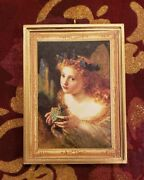 Take The Fair Face Of Woman Andersonine Christmas Ornament/magnet/dhm/wall Art