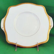 Winchester By Minton Cake Plate 10.25 X 9.25 New Never Used Made In England