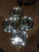 Vintage Hubcap Ford Passenger And03959 And03960 Fomoco