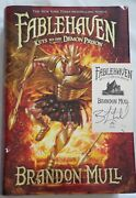Fablehaven Keys To The Demon Prison Autographed Signed Brandon Mull Book 5 Hc/dj