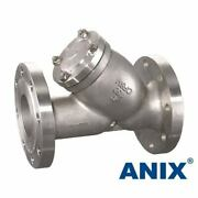 6 Ss Wye Strainer Stainless Steel Cf8m Rf Flanged End Y-strainer Mesh 40 Anix