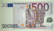 Euro-germany 500 Euro X R014 Sign Trichet
