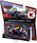 Disney Cars 1 2 3 Kmart Diecast 155 - Max Schnell - Rubber Tires Tyres Uk