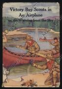 1915 Boy Scouts In An Airship Aviation Victory Boy Scout Series Airplane Hb/dj