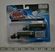 N Scale Mini Metals 51175 White Wc 22 Tractor/trailer Set Us Mail