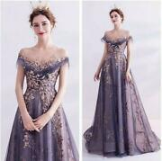 Women Lady Evening Mesh Sequins Dress Slim Long Ball Gown Wedding Prom Cocktail