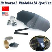 Airflow Windshield Clip On Protector Universal Fit For Bmw F800gt 2013-2015