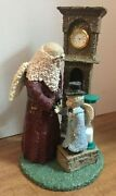 Enesco Belsnickle -gifts For Mankind 543616 - 1999 Father Time/new Years Baby