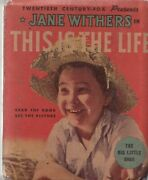 Jane Withers - This Is The Life 1179 1935 - Whitman -vg/fn - Comic Book
